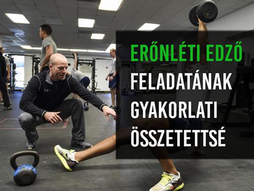Az erőnléti edző szerepe