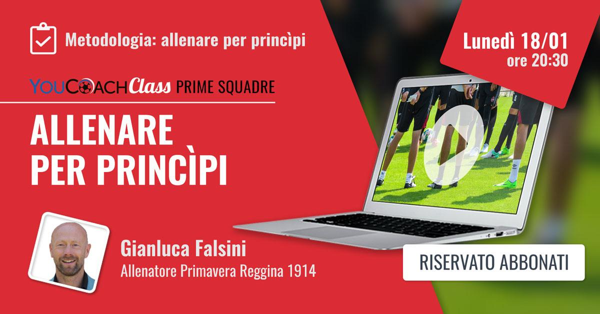 YouCoachClass Flasini webinar calcio prime squadre