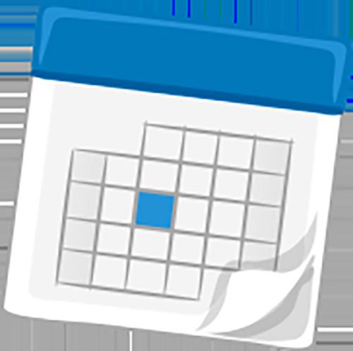 Calendario programmazione mesociclo