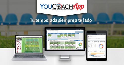 YouCoachApp: la aplicación para los entrenadores de fútbol
