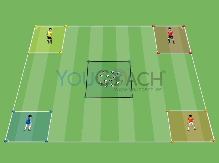 Robin Hood: conducción de balón en velocidad - Ajax AFC